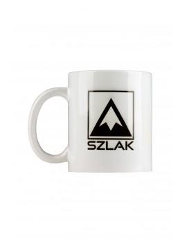 Kubek ceramiczny biały z logo SZLAK