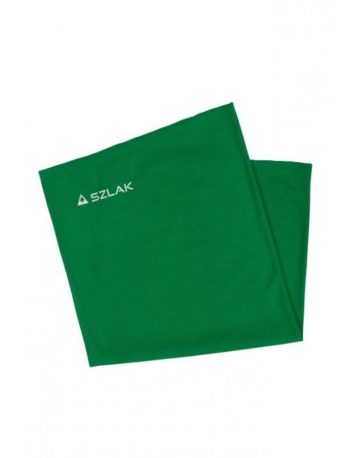 Bandana, komin wielofunkcyjny w kolorze zielonym z logo SZLAK Clothing