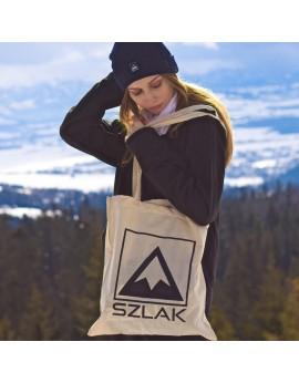 Torba bawełniana z długi uszami i z logo SZLAK Clothing