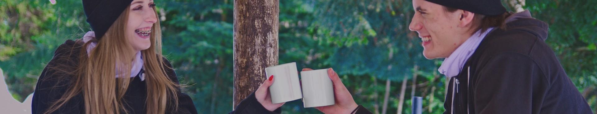 Kubki ceramiczne z motywem gór - dla turysty - SZLAK.co